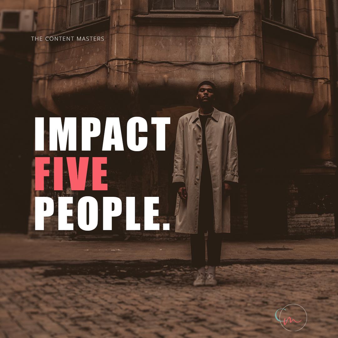 Impact Five People